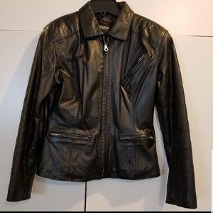 Women Wilson's leather jacket size M